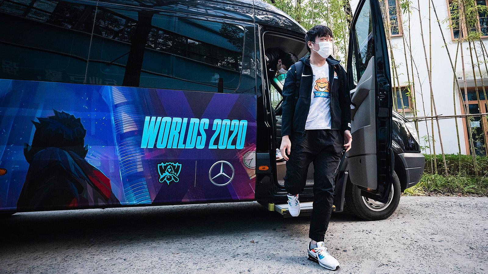 Worlds 2020 Suning Mercedes-Benz