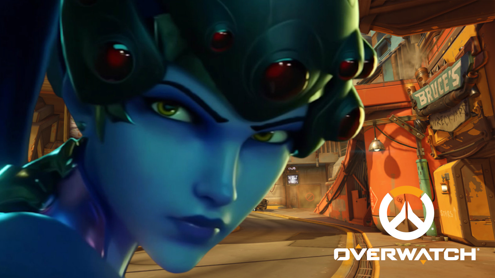 Widowmaker on Junkertown