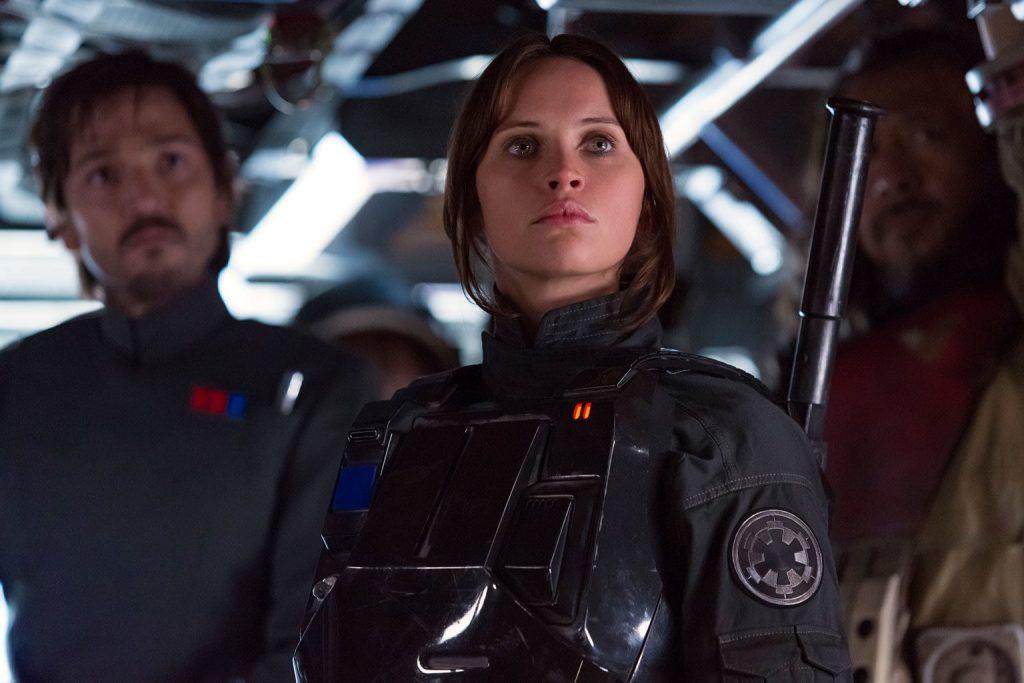 Felicity Jones in Star Wars