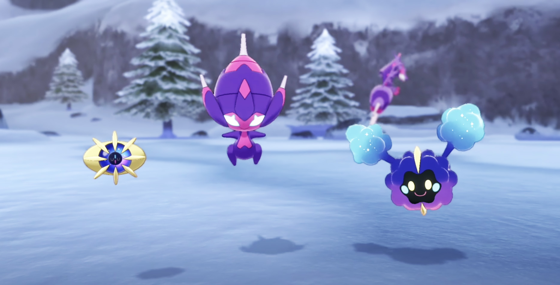 Poipole, Cosmog and Cosmoem