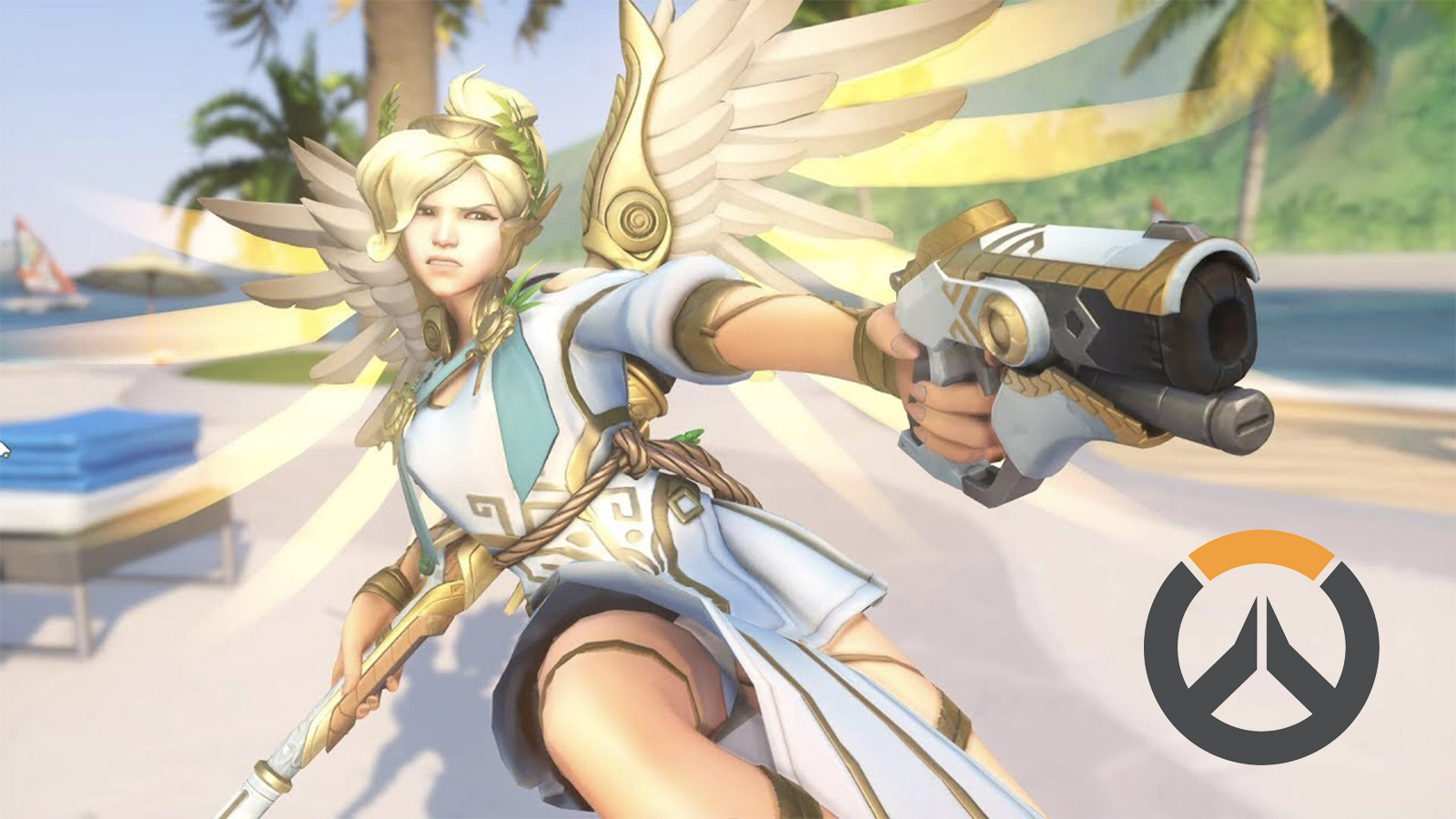Winged Victory Mercy Cosplay Overwatch