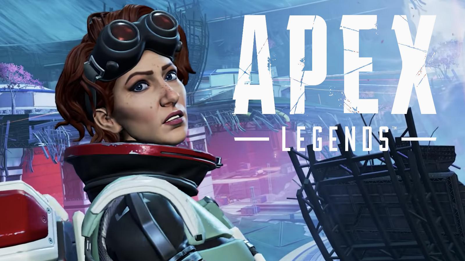 Horizon on Olympus in Apex Legends