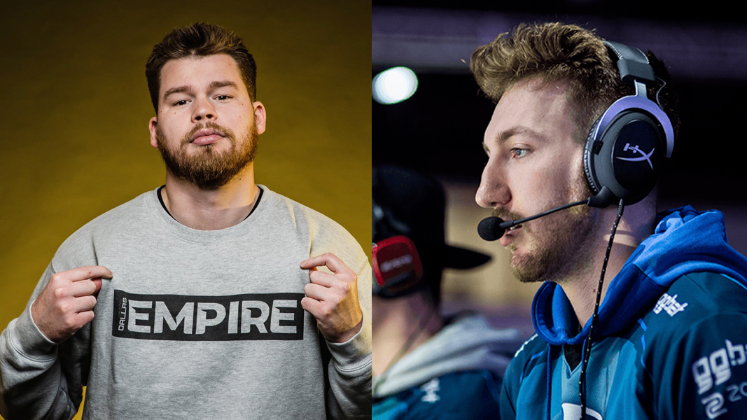 Crimsix and Slacked next to each other
