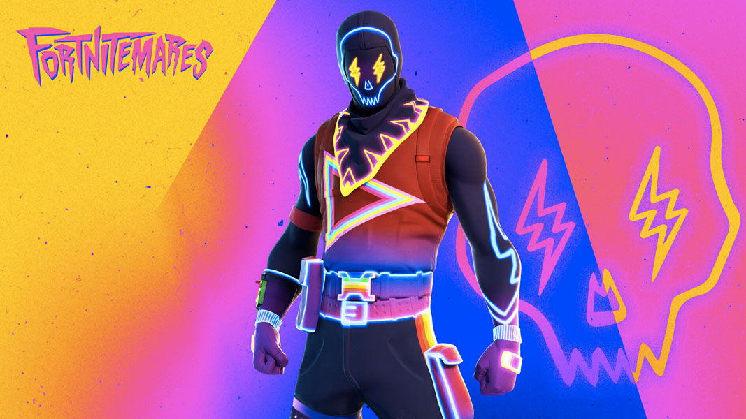 Screenshot of the J Balvin Fortnite skin style for Party Trooper