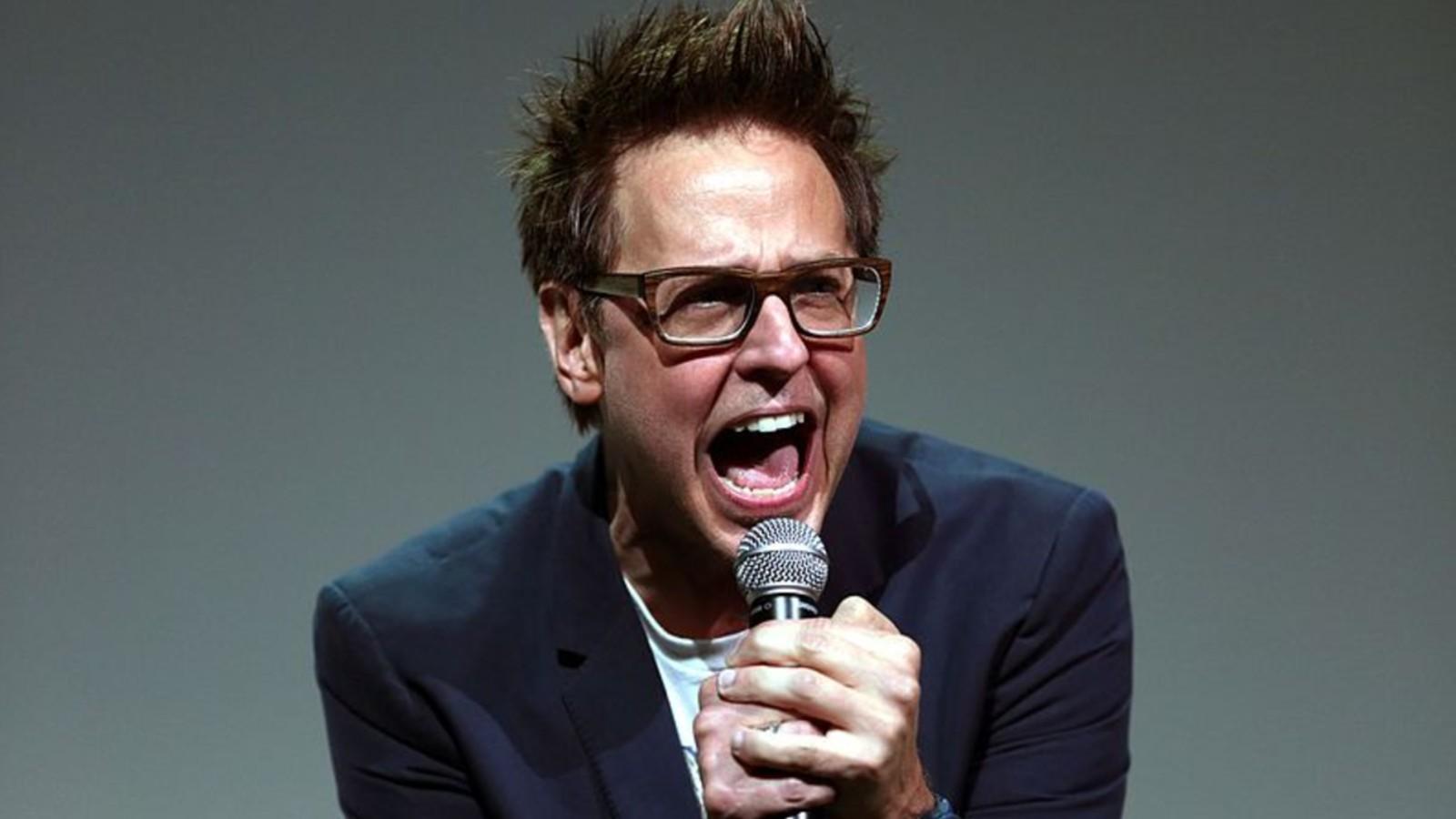 James Gunn at Comic Con
