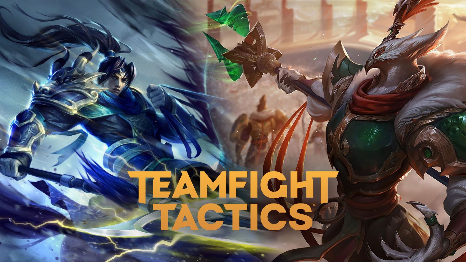 Xin Zhao and Azir in TFT Fates