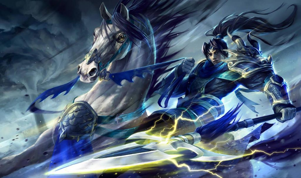 Xin Zhao in TFT Fates