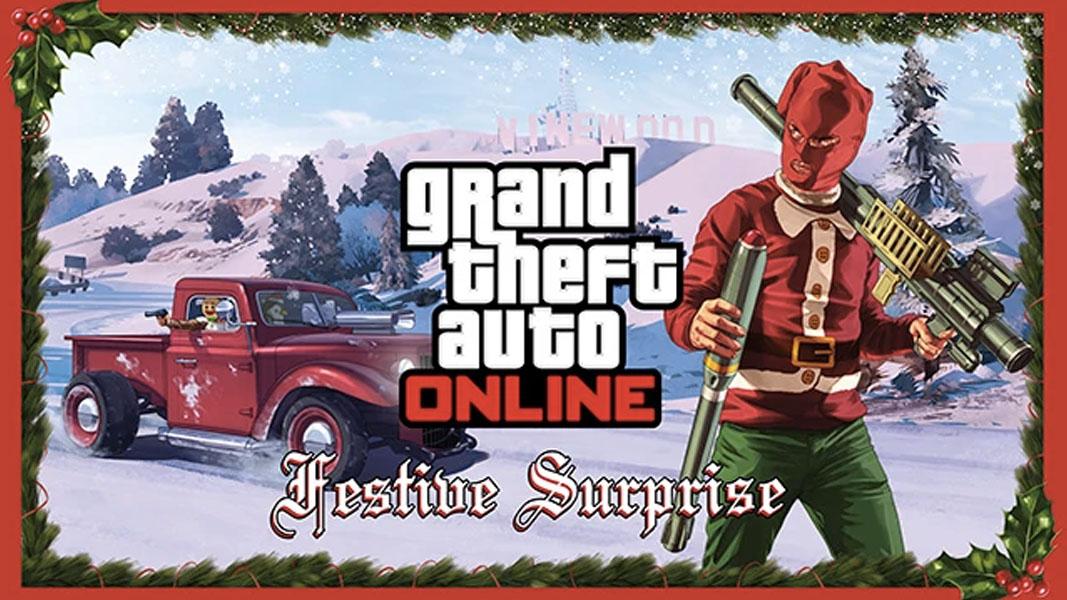 GTA Online festive surprise poster