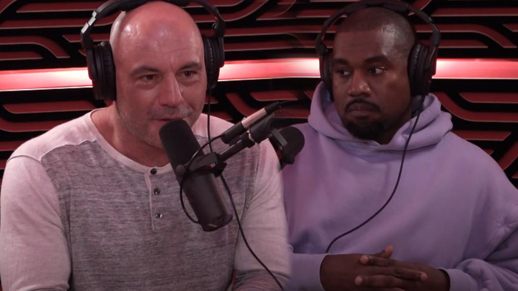 Kanye and Joe Rogan