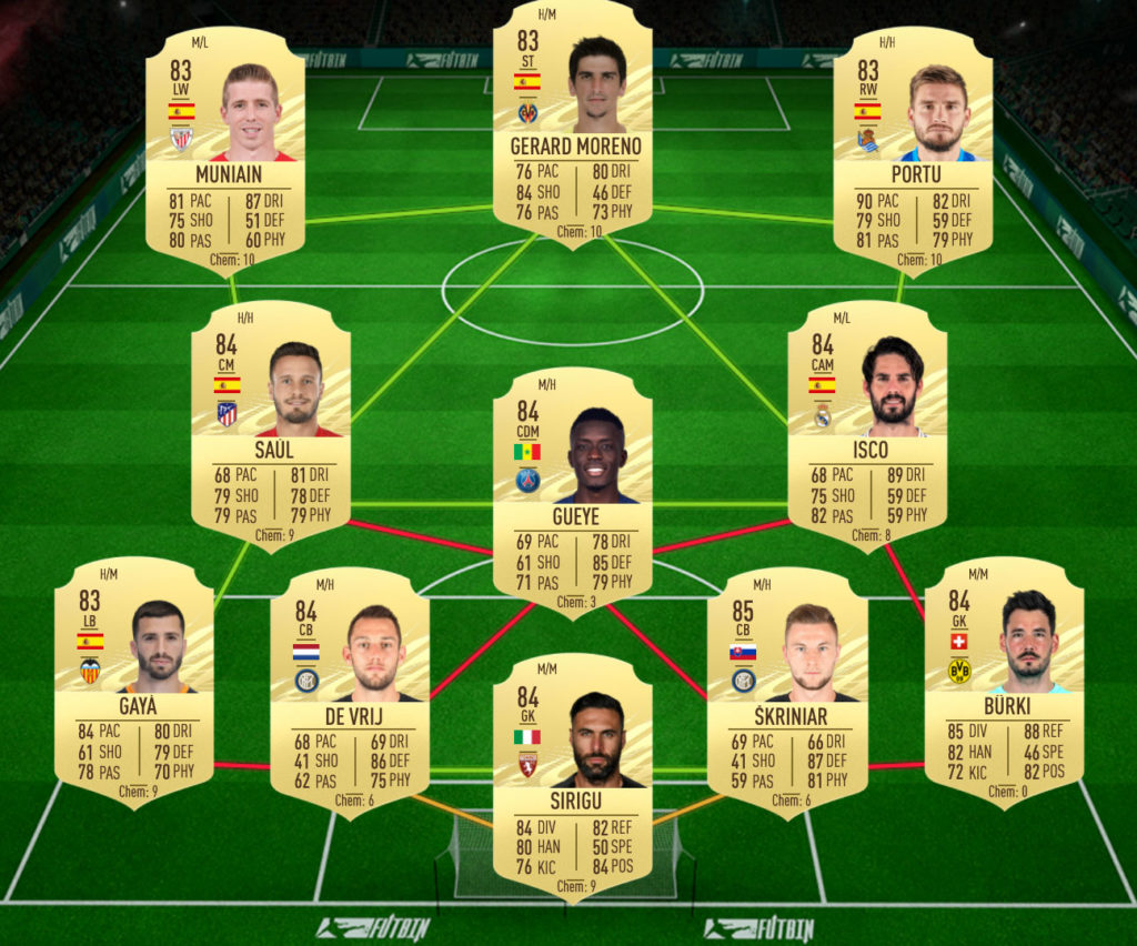 Ligue 1 Denayer Rulebreaker SBC solutions