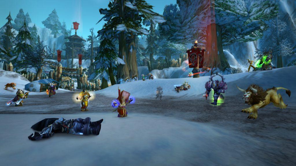 World of Warcraft 16th Anniversary event