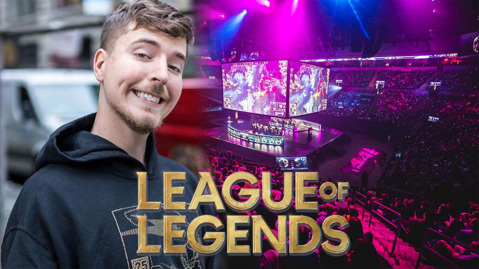Mr beast league of legends team