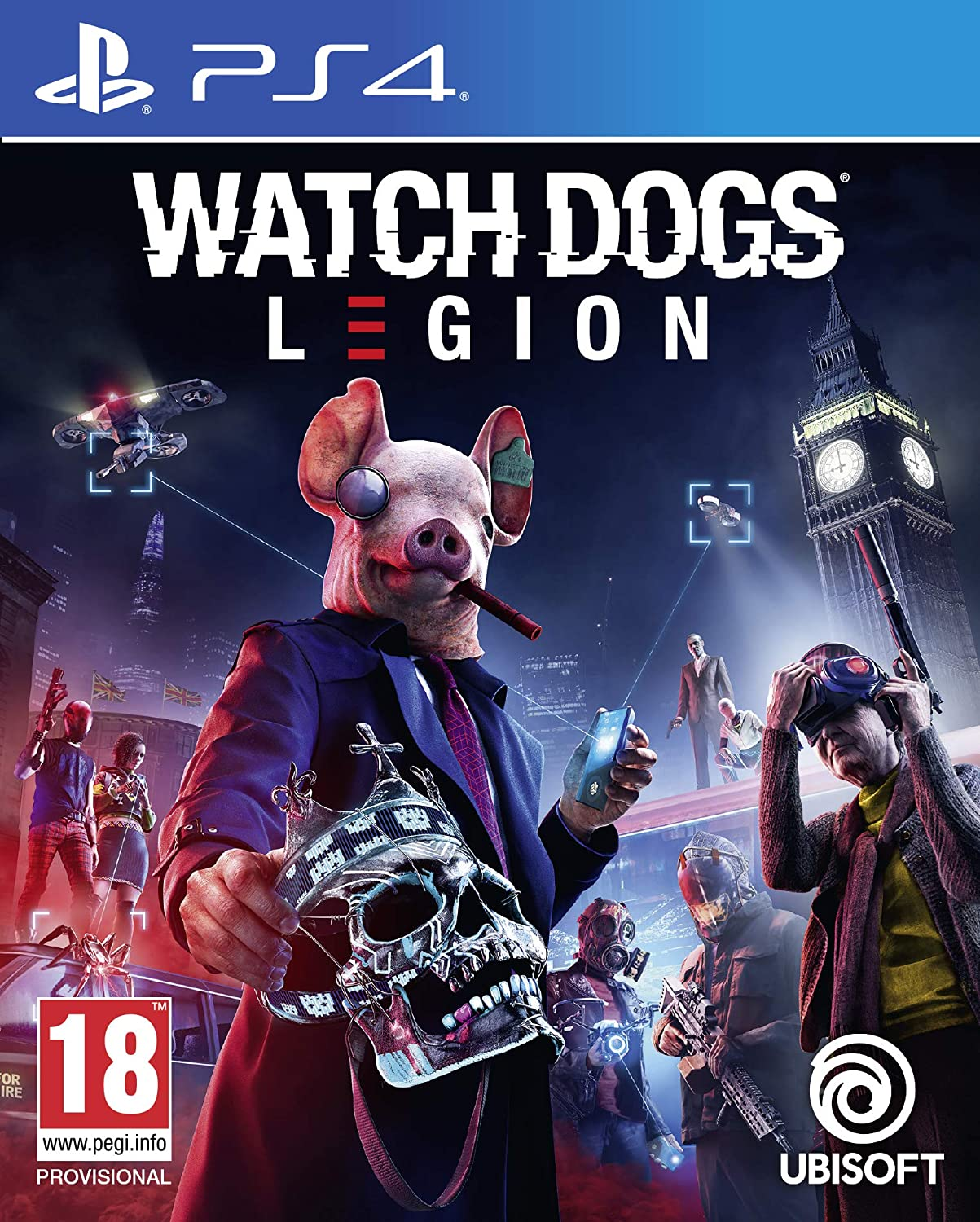 The box art for Watch Dogs Legion
