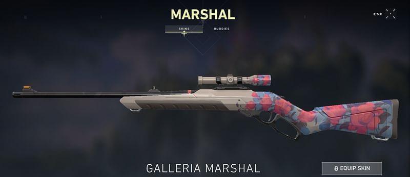 Galleria Marshal Valorant