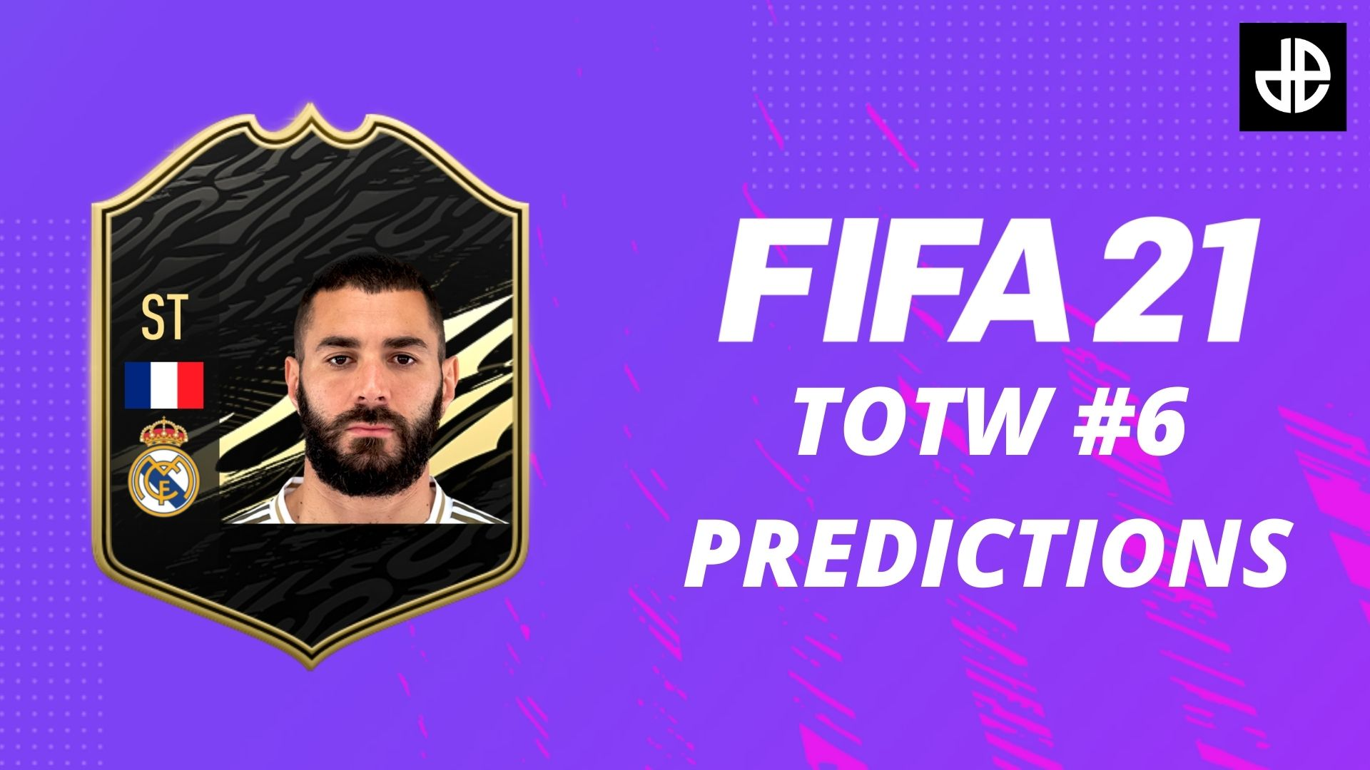 FIFA 21 Team of the Week 6 with Karim benzema card