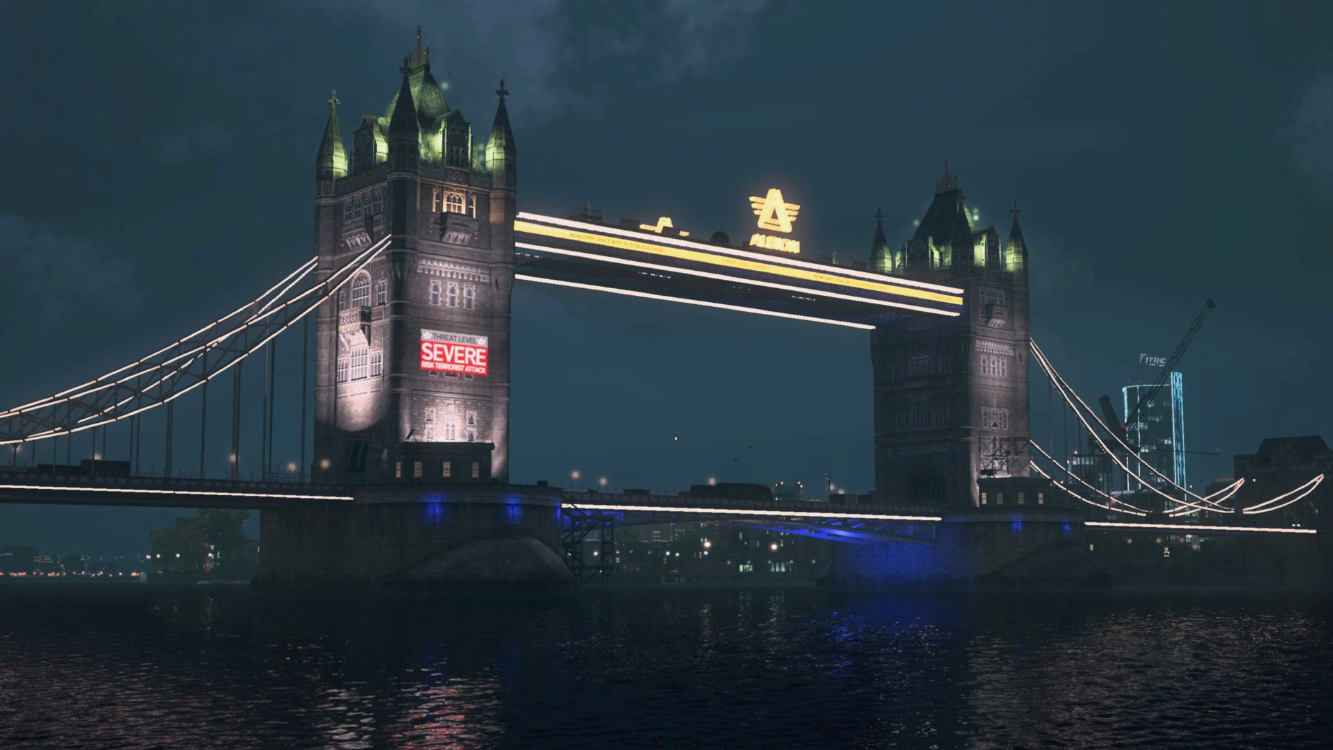 London Bridge in Watch Dogs Legion