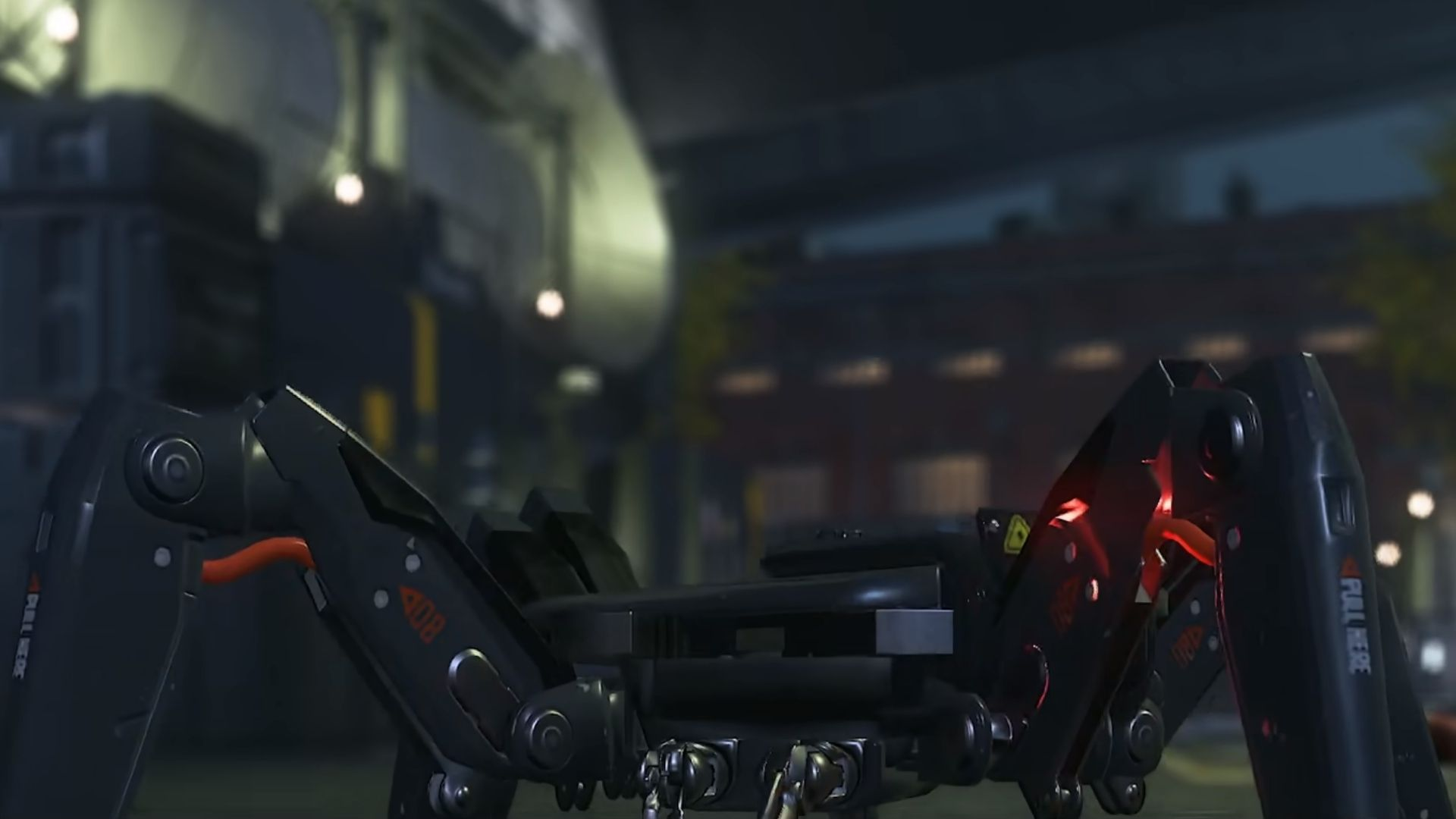 a spiderbot in watch dogs legion