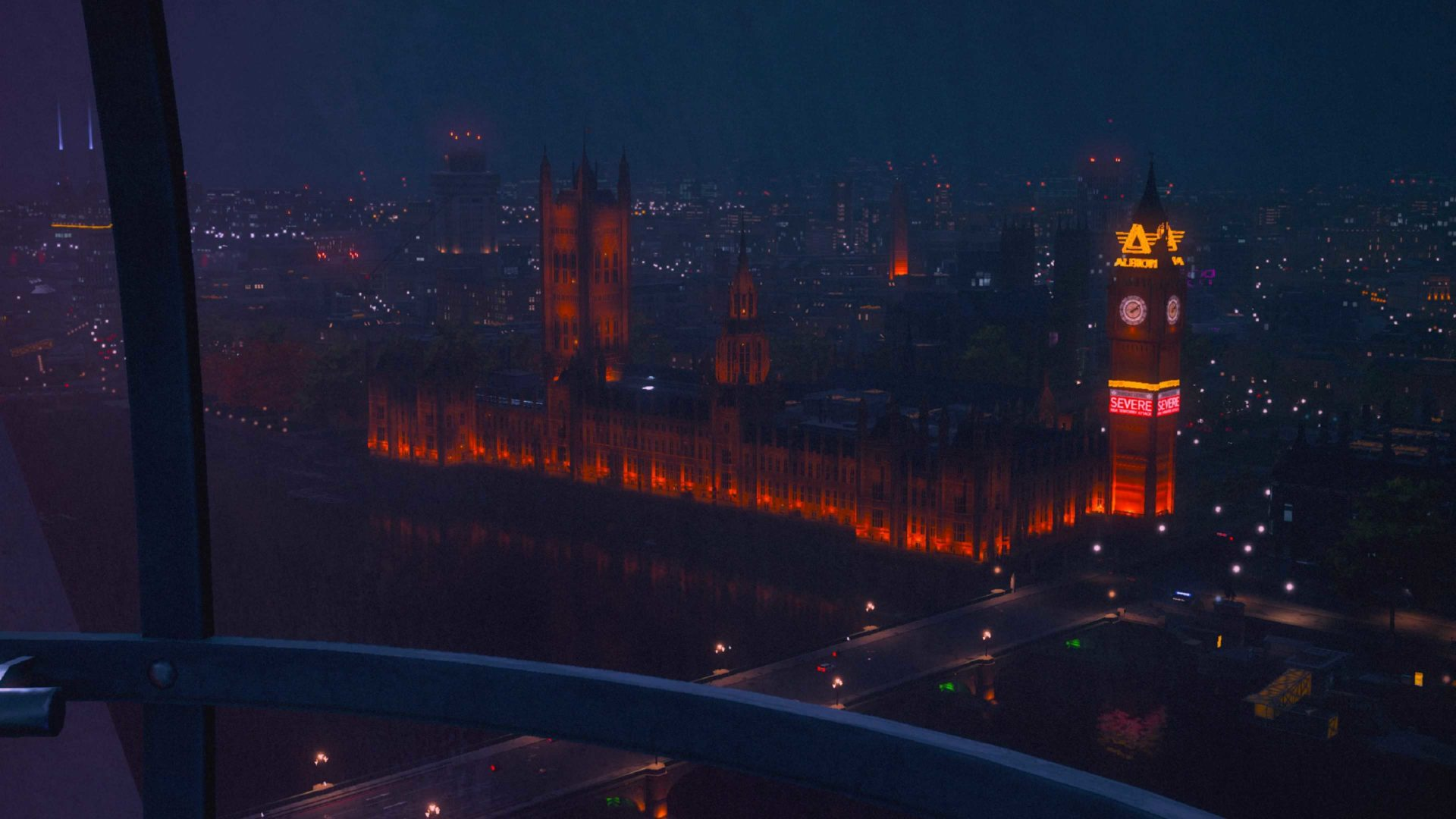westminster abbey and big ben in watch dogs legion