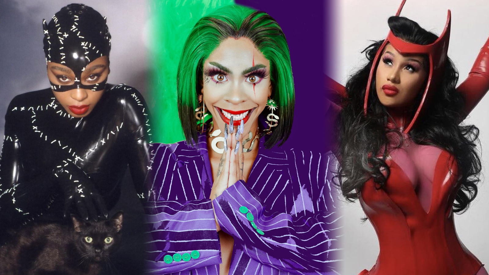 Normani, Rico Nasty and Cardi B for Halloween 2020