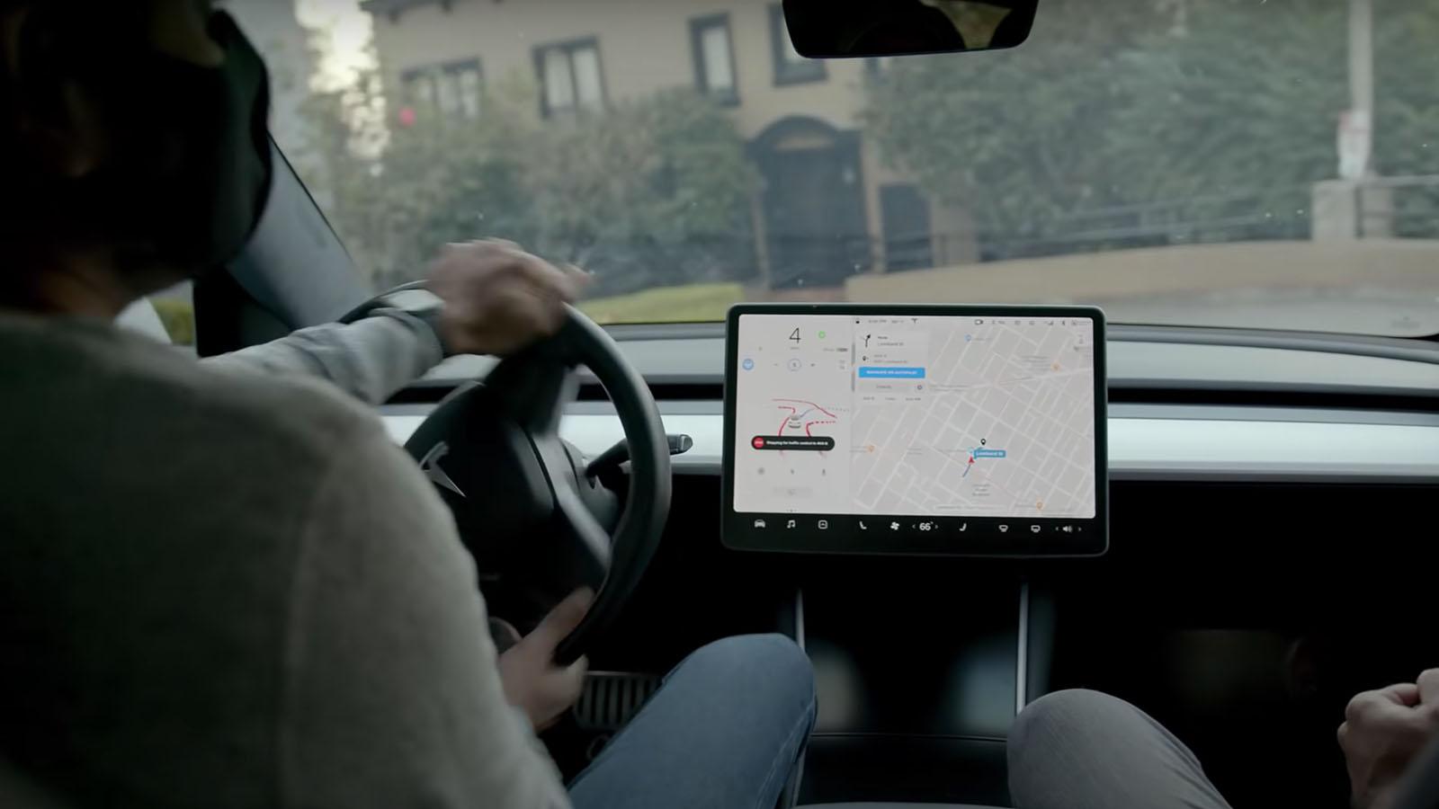 Tesla Autopilot intervention