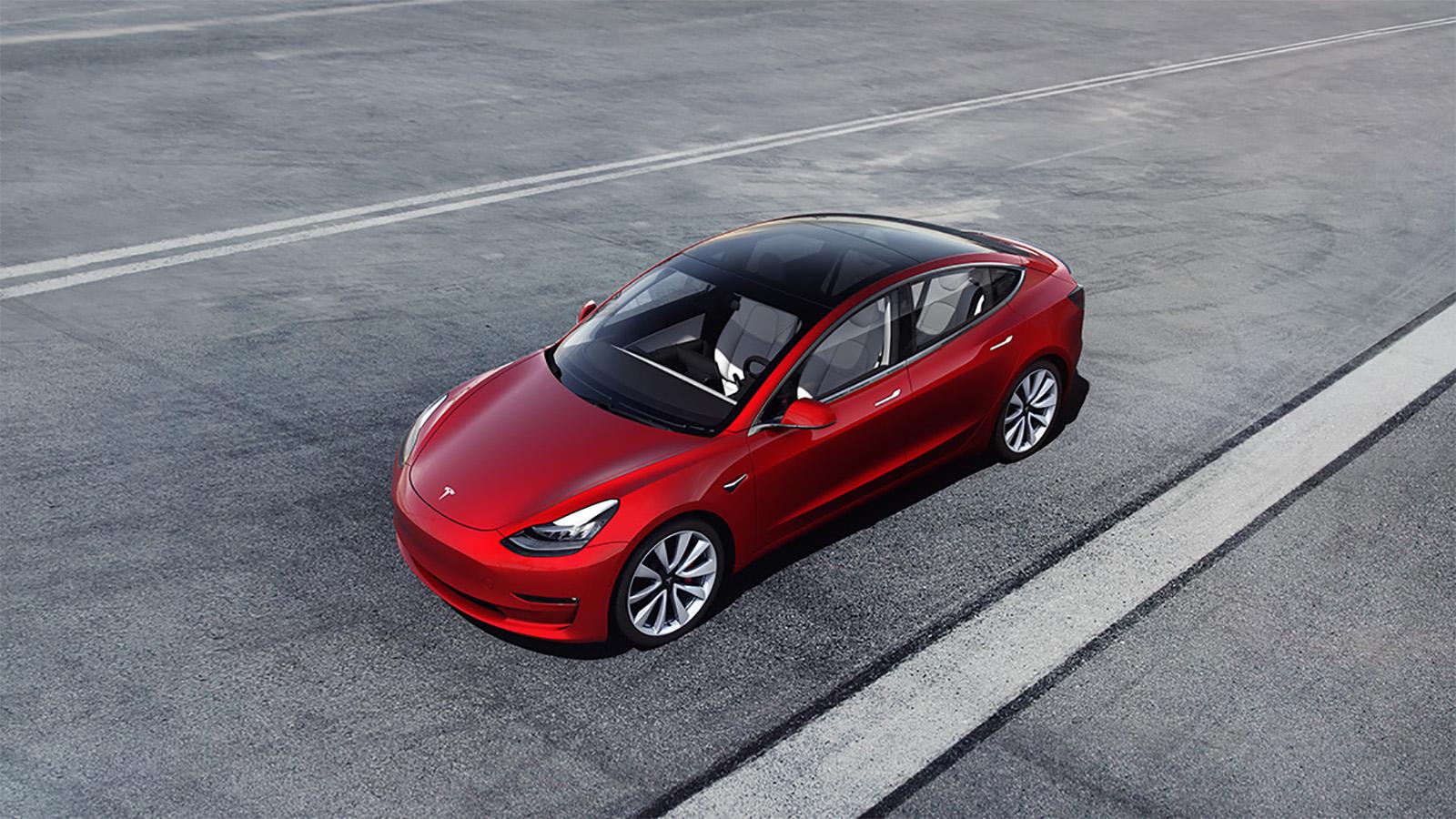 Tesla Model 3 Self Driving