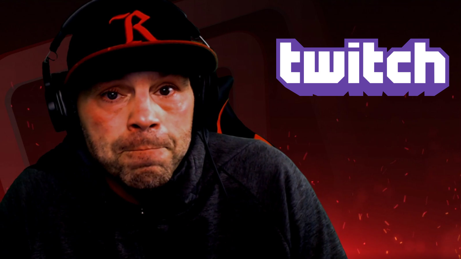 Jens Pulver tears up during Twitch stream
