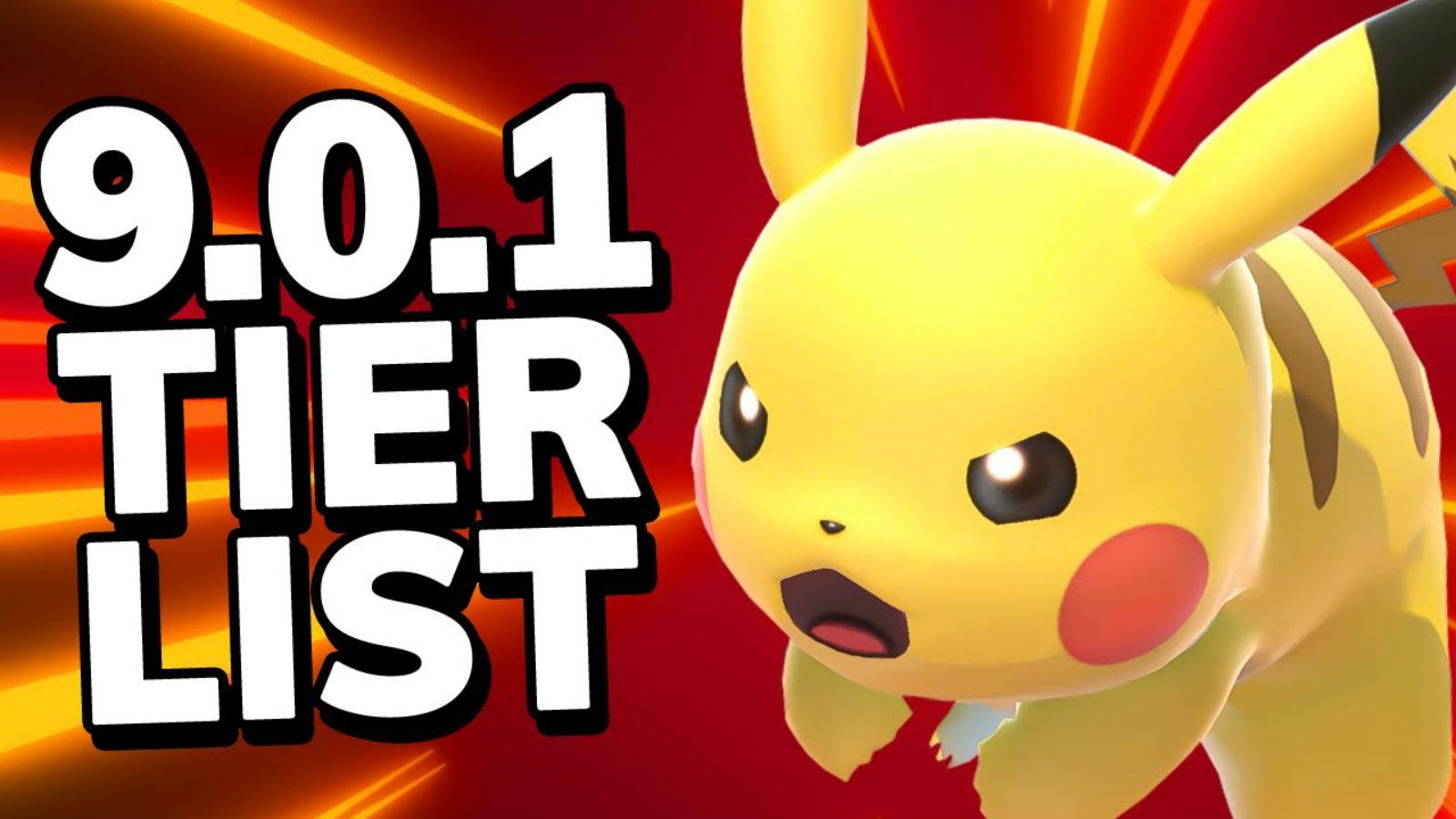 Pikachu in Smash tier list
