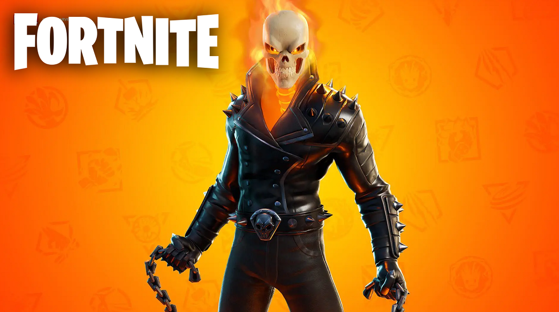 Fortnite Ghost Rider skin