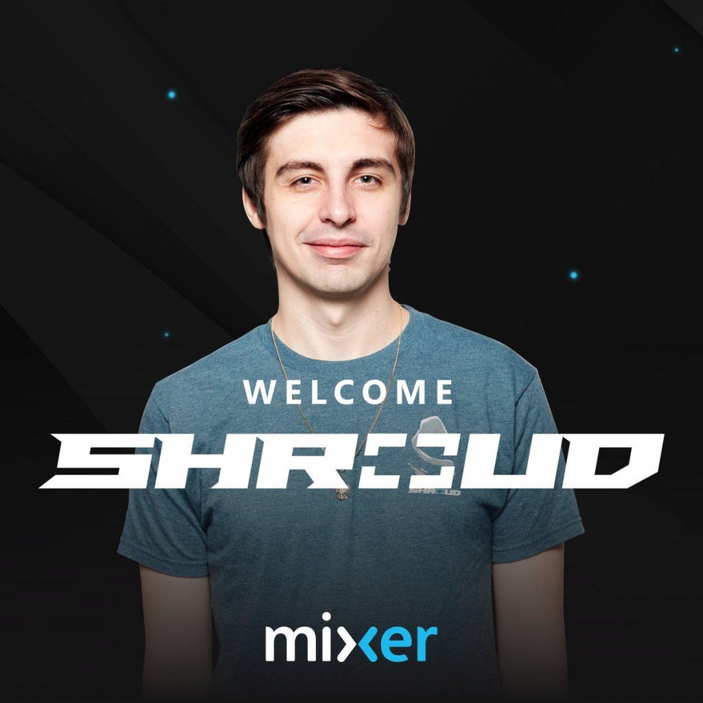 Shroud joins Mixer