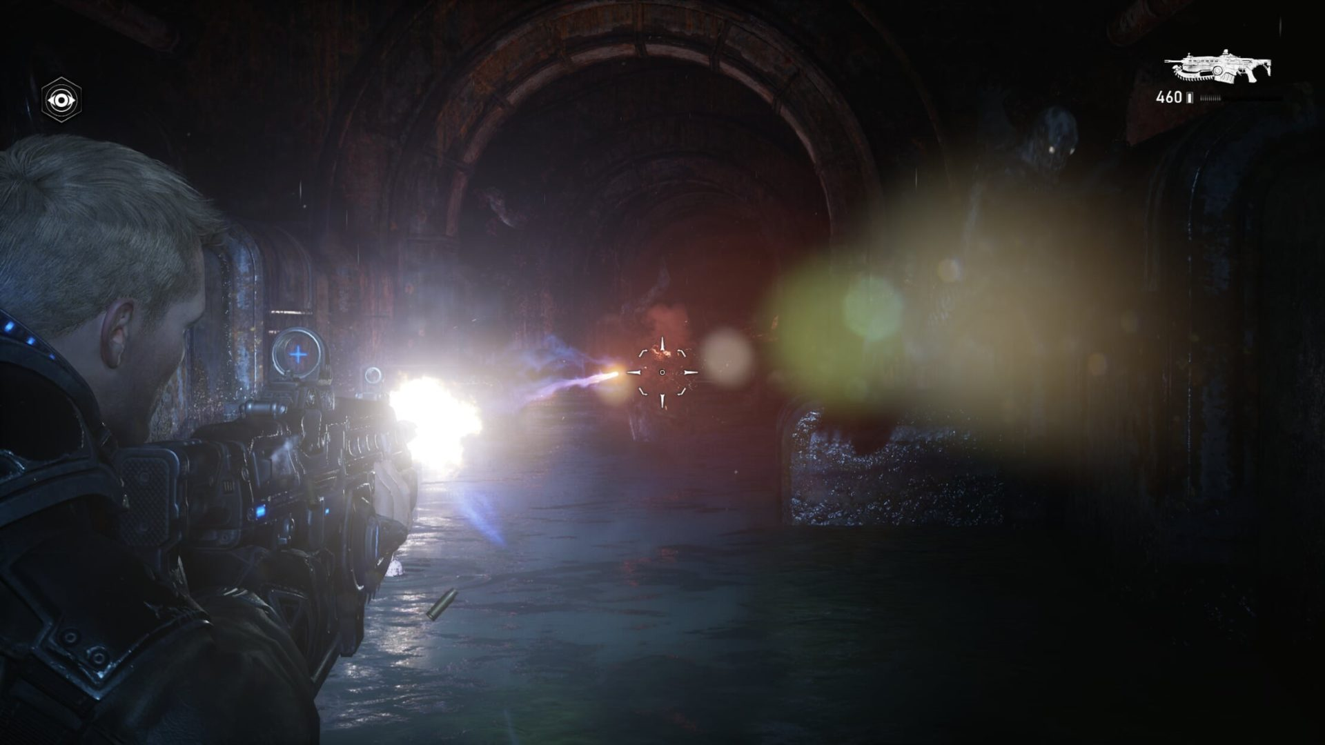 Gears of War 5 on the Xbox Series X