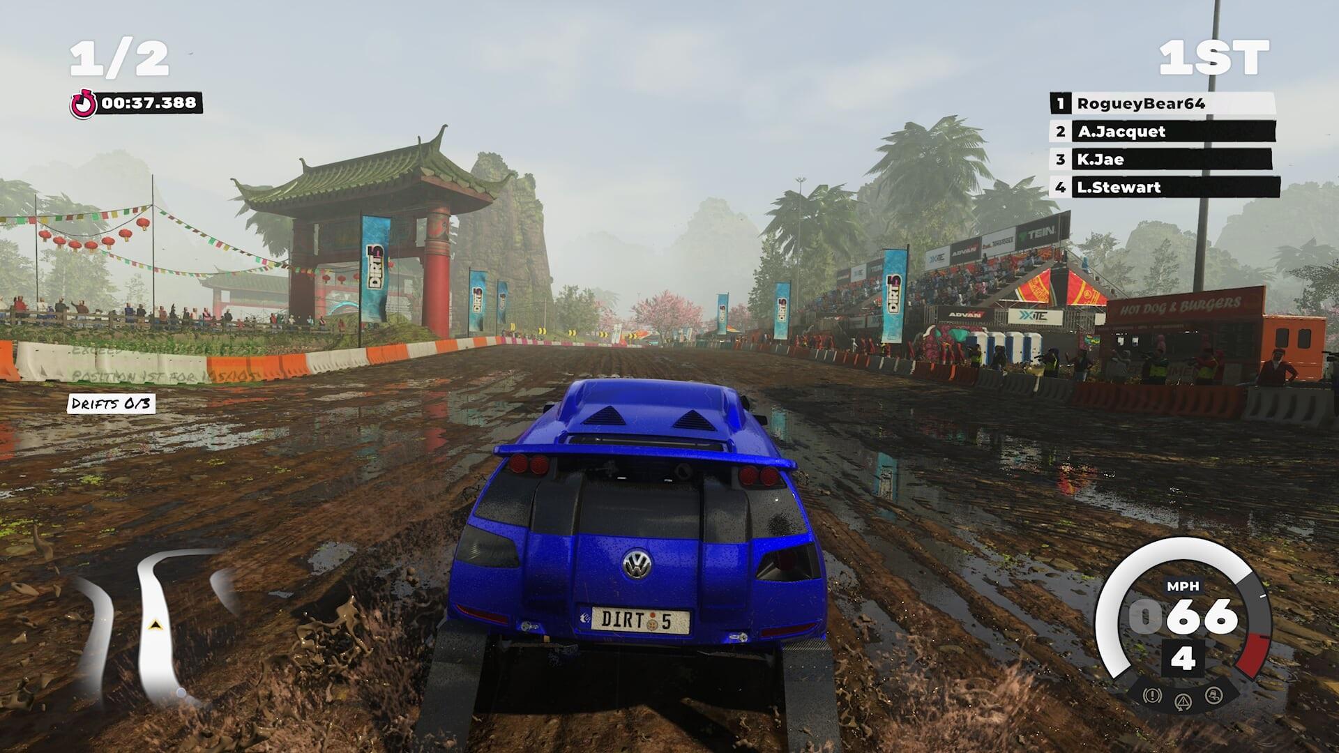 Dirt 5 race