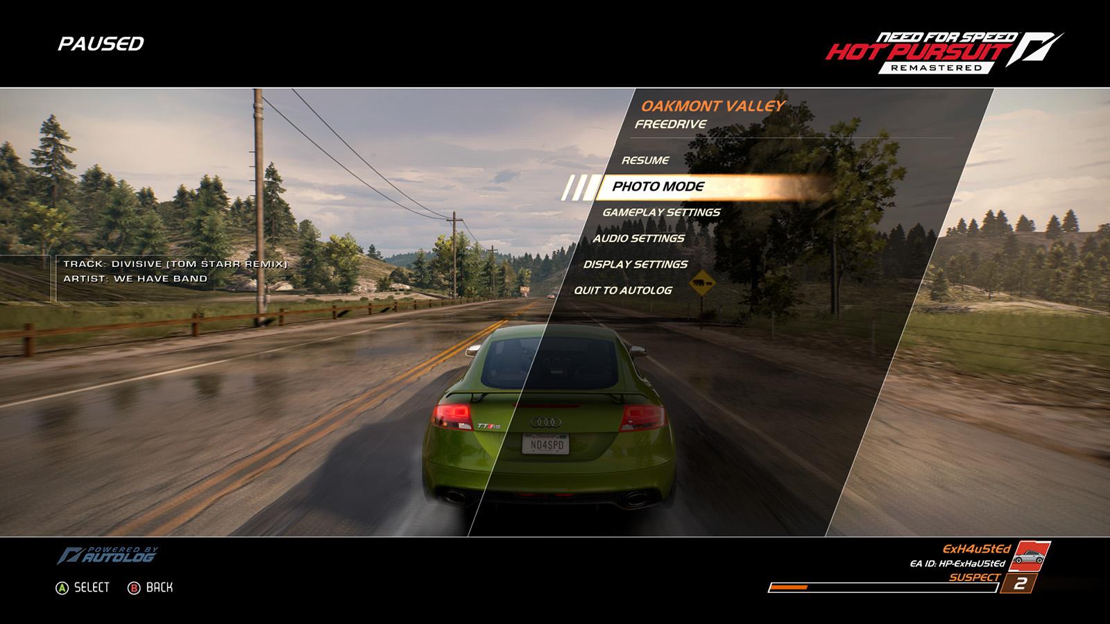 Audi TT NFS Hot Pursuit