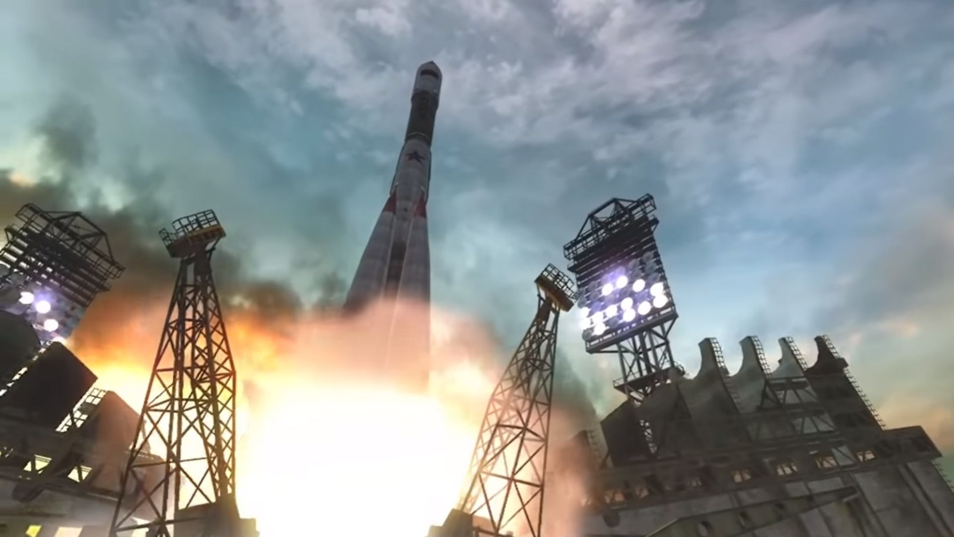 a missile launching in cod black ops