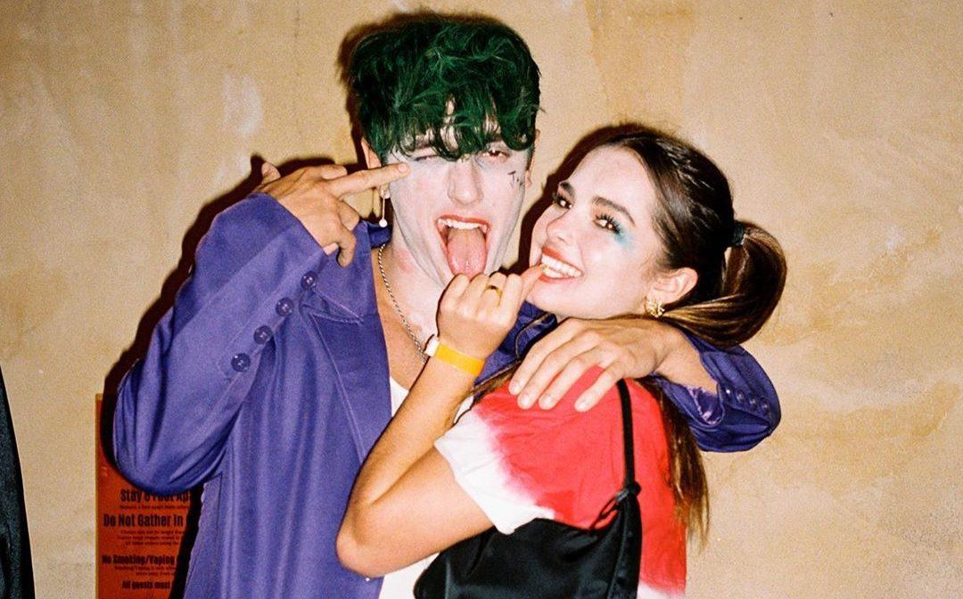 Bryce Hall Addison Rae Harley Quinn Joker Halloween