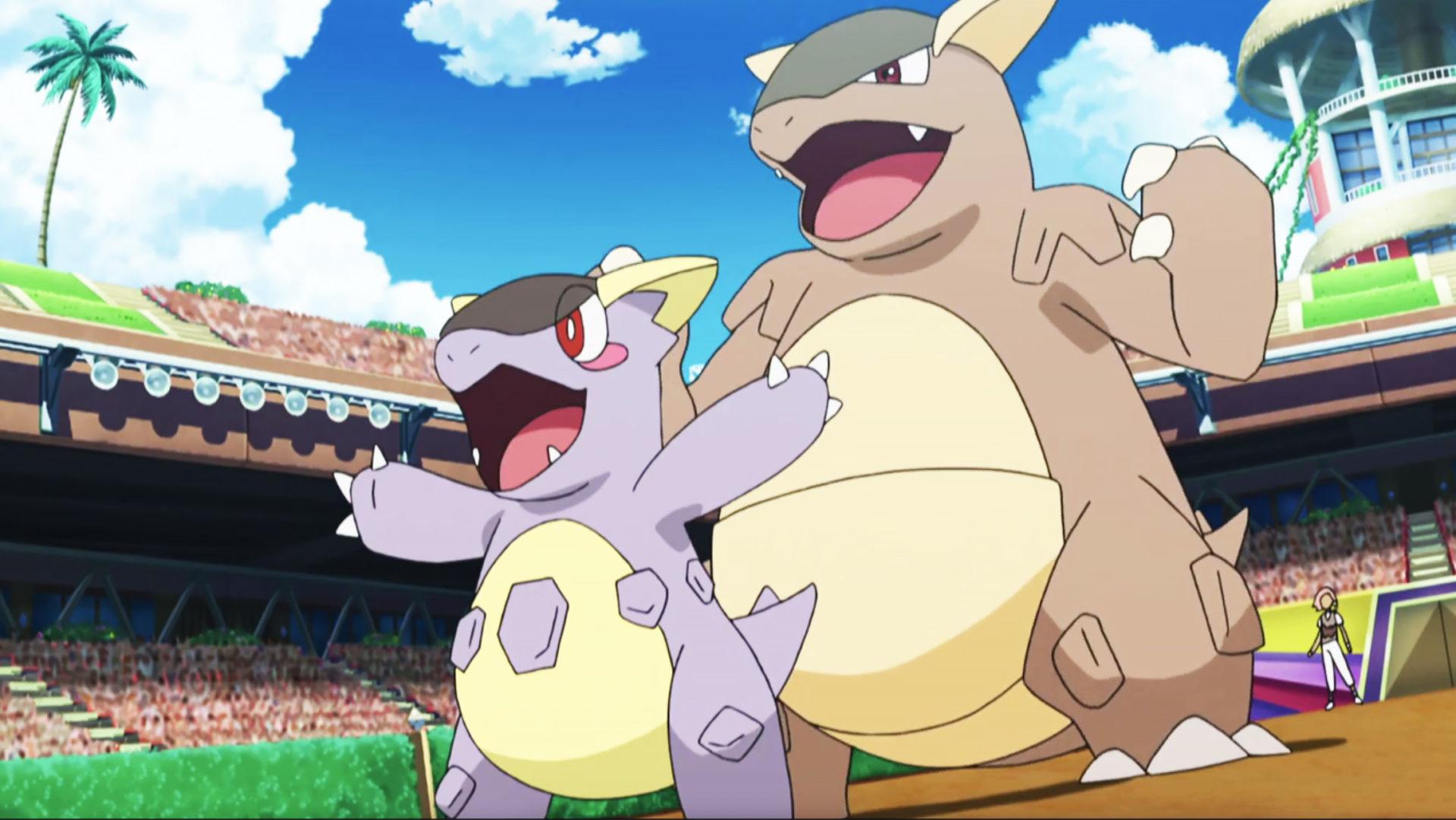 kangaskhan pokemon anime