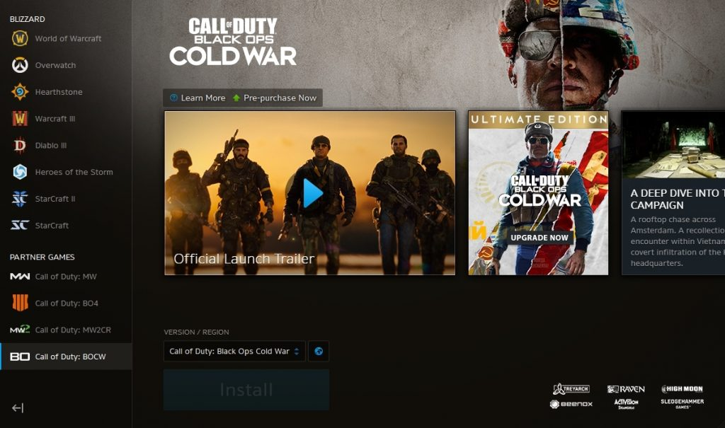 Black Ops Cold War PC