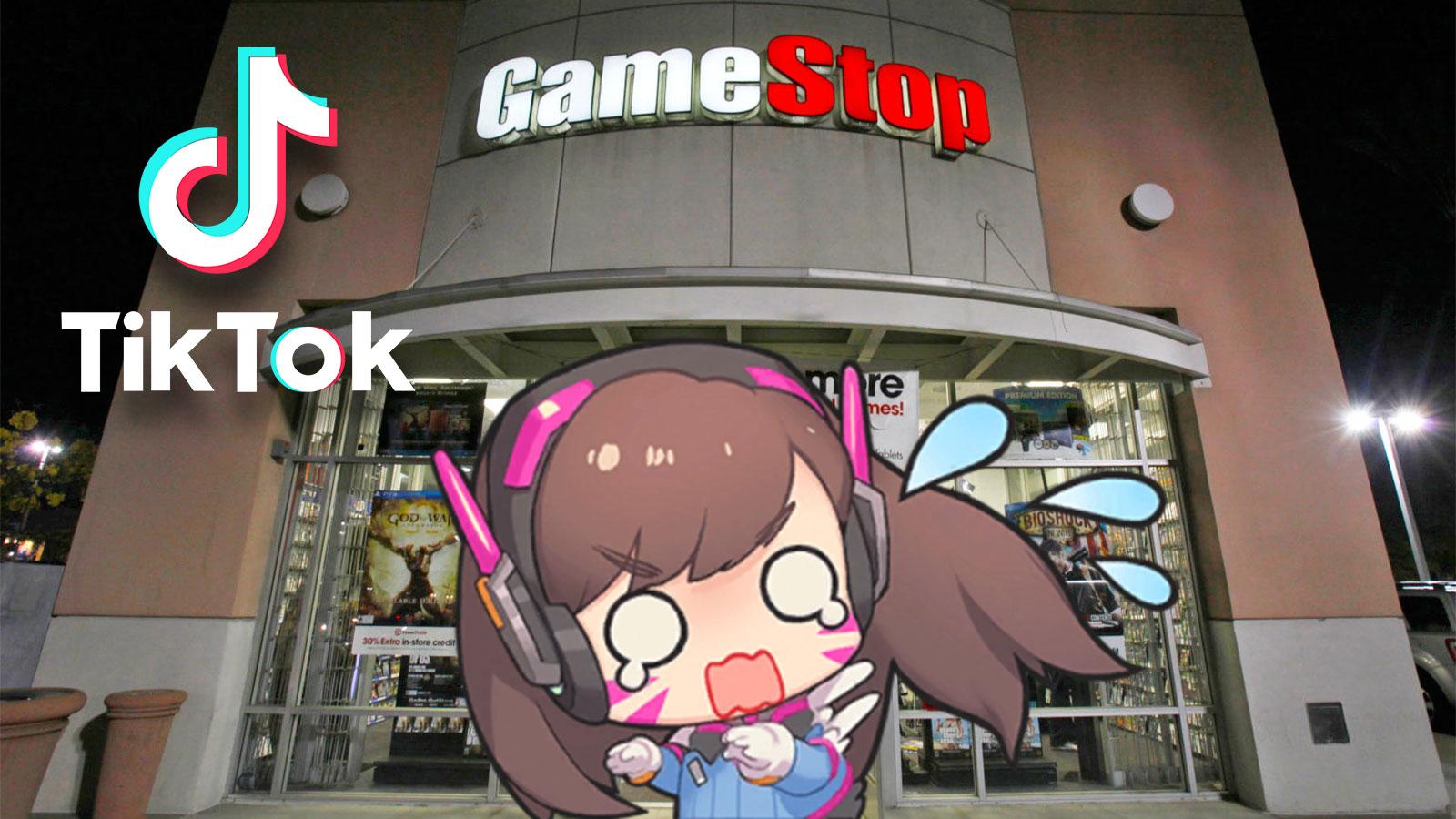 Game Stop employee TikTok contest