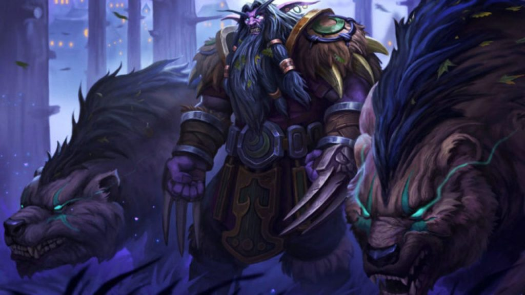 Night Elf Druid World of Warcraft