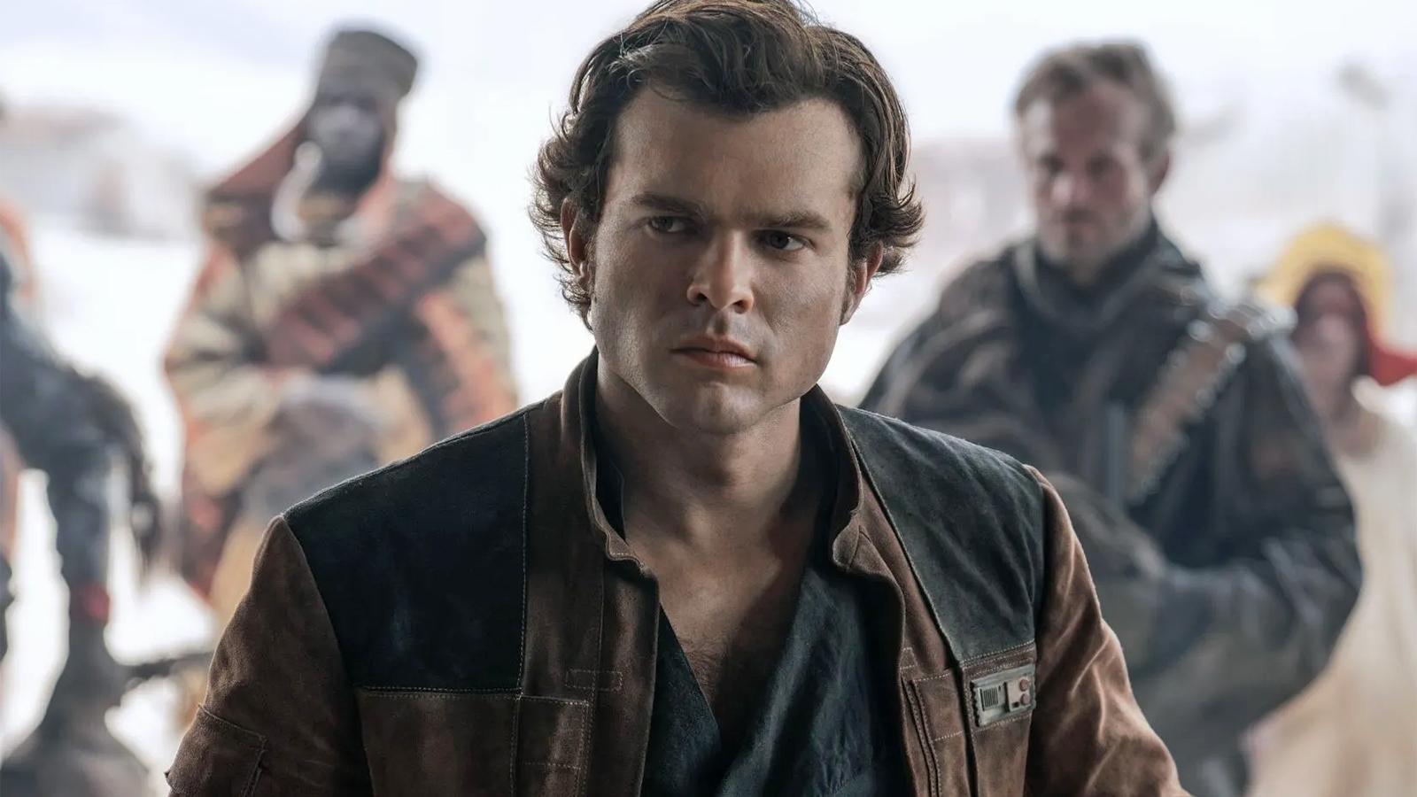 Han Solo in A Star Wars Story
