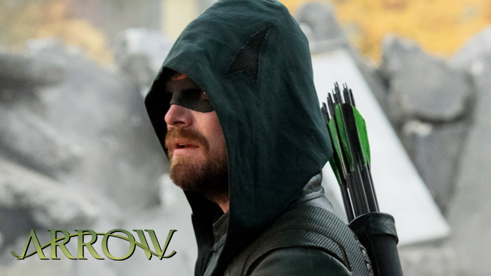 Stephen Amell in The CW's Arrow