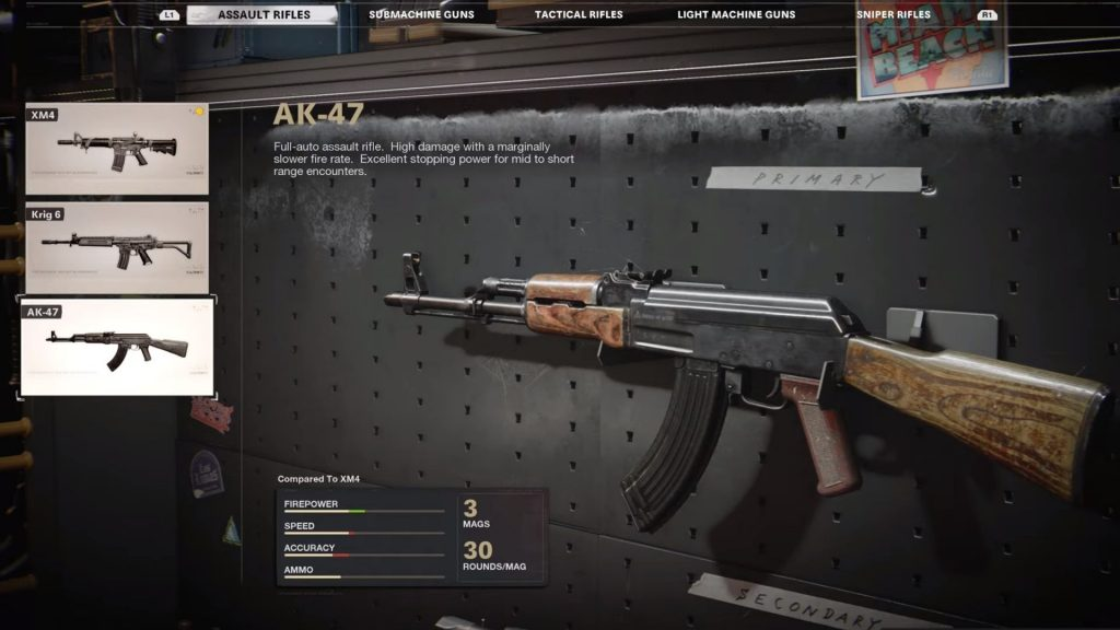 ak-47 in cod black ops cold war