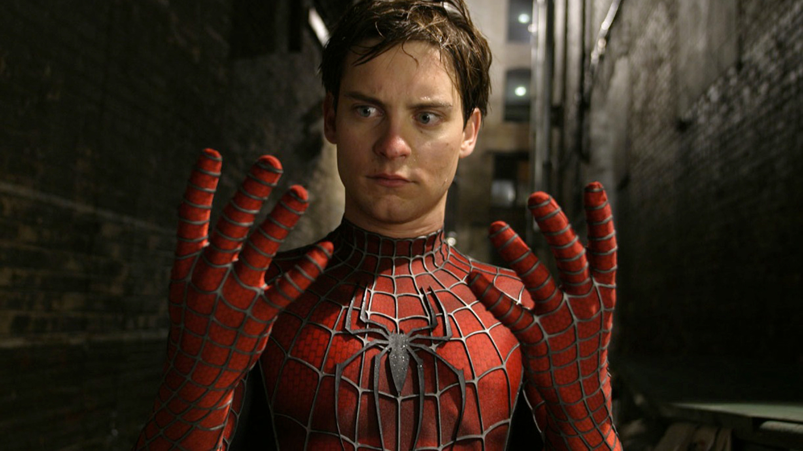 Toby Maguire in Spider-Man