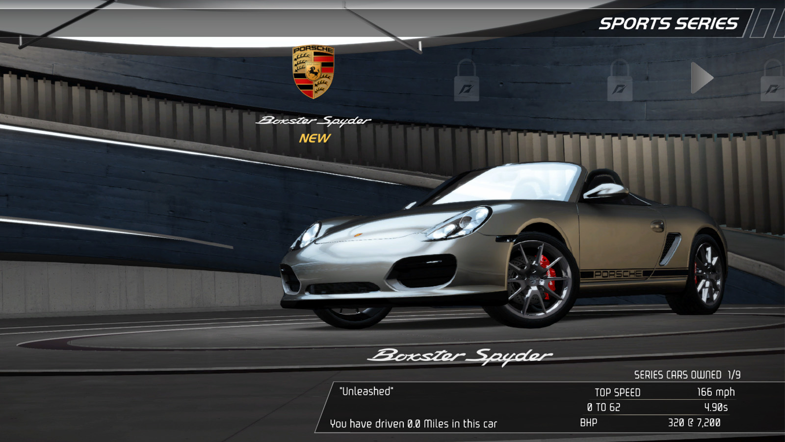 Porsche Boxter Need For Speed Remastered
