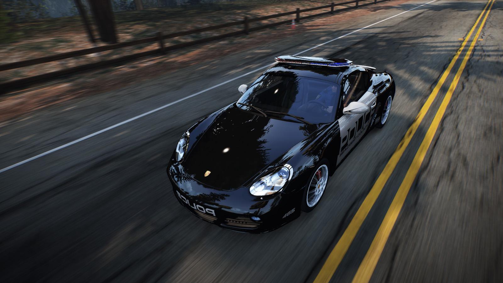 NFS Porsche Cop