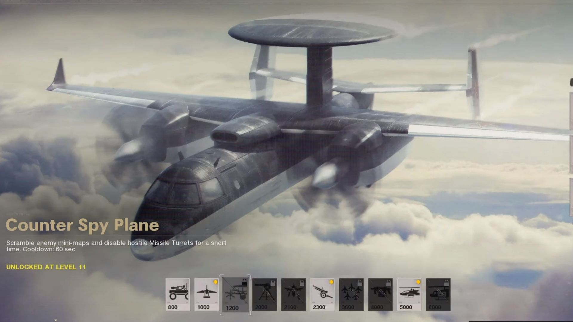 counter spy plane in cod black ops cold war