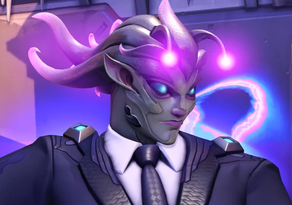Zarya Alien skin