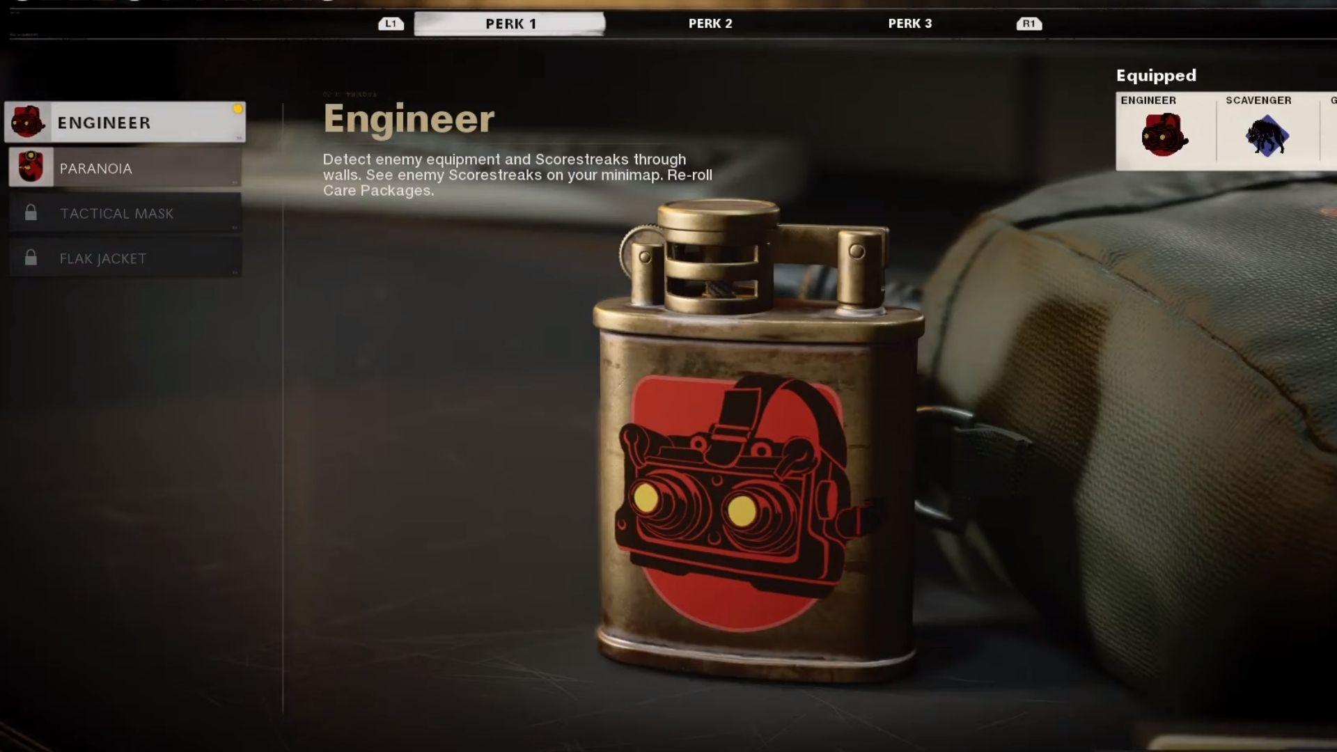 engineer perk in black ops cold war