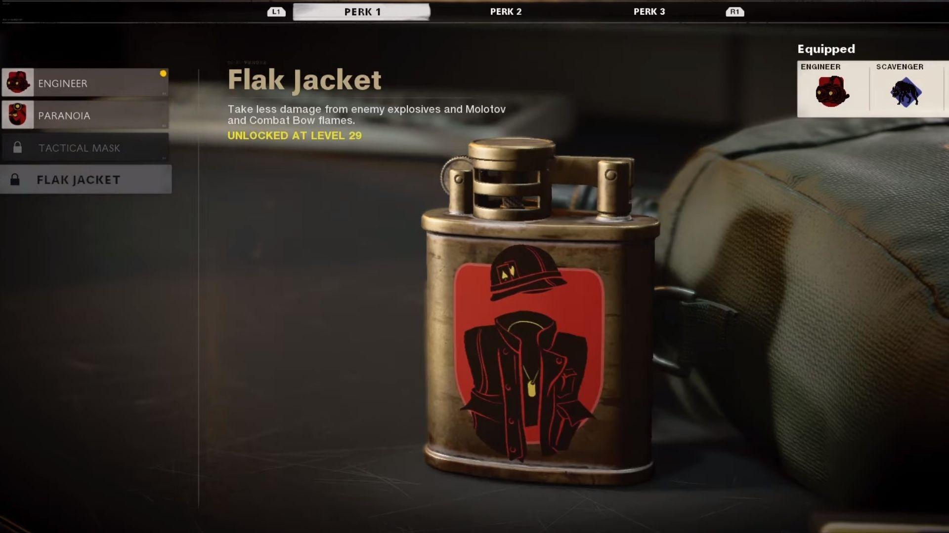 flak jacket in black ops cold war