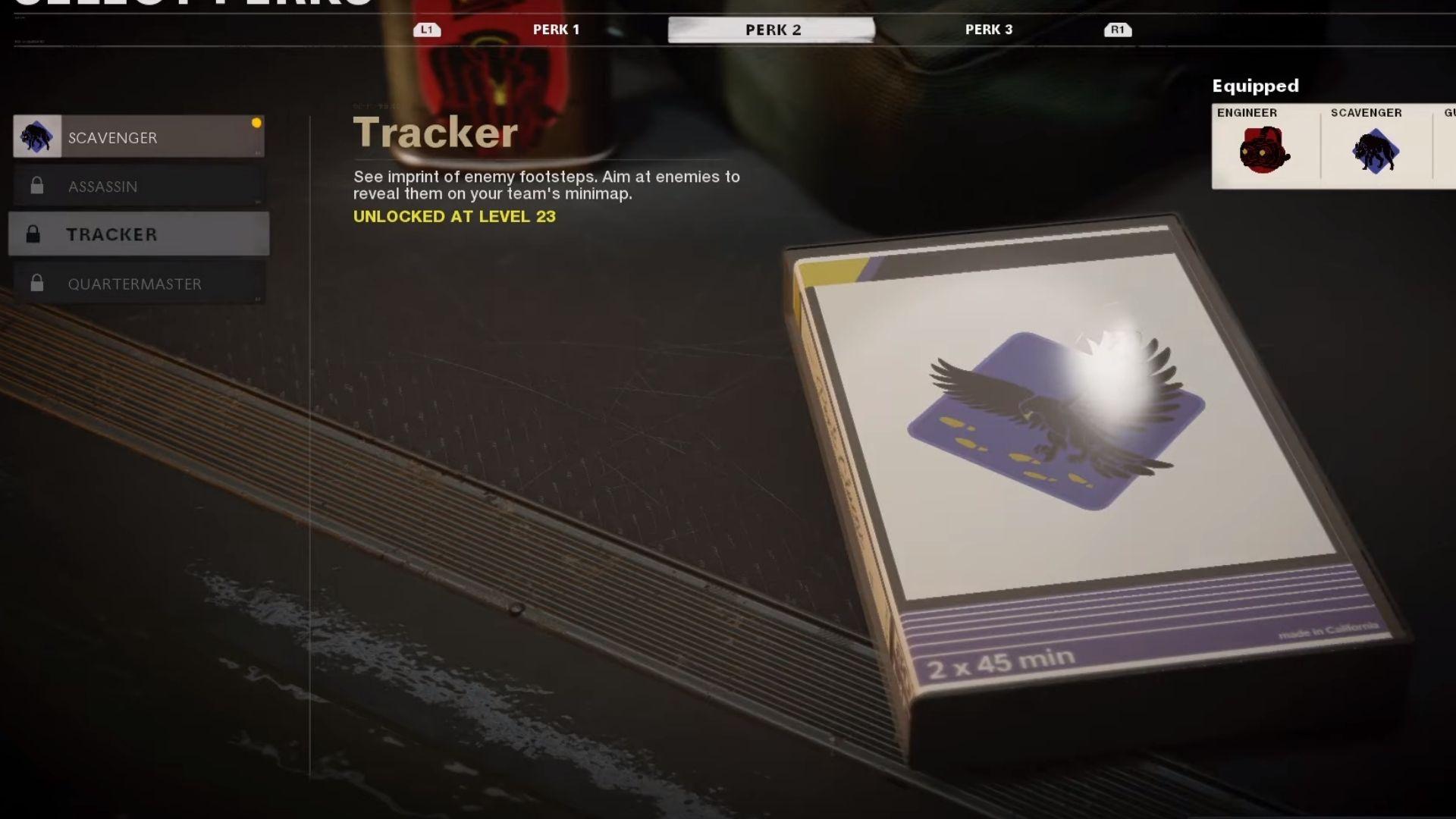 tracker perk in black ops cold war