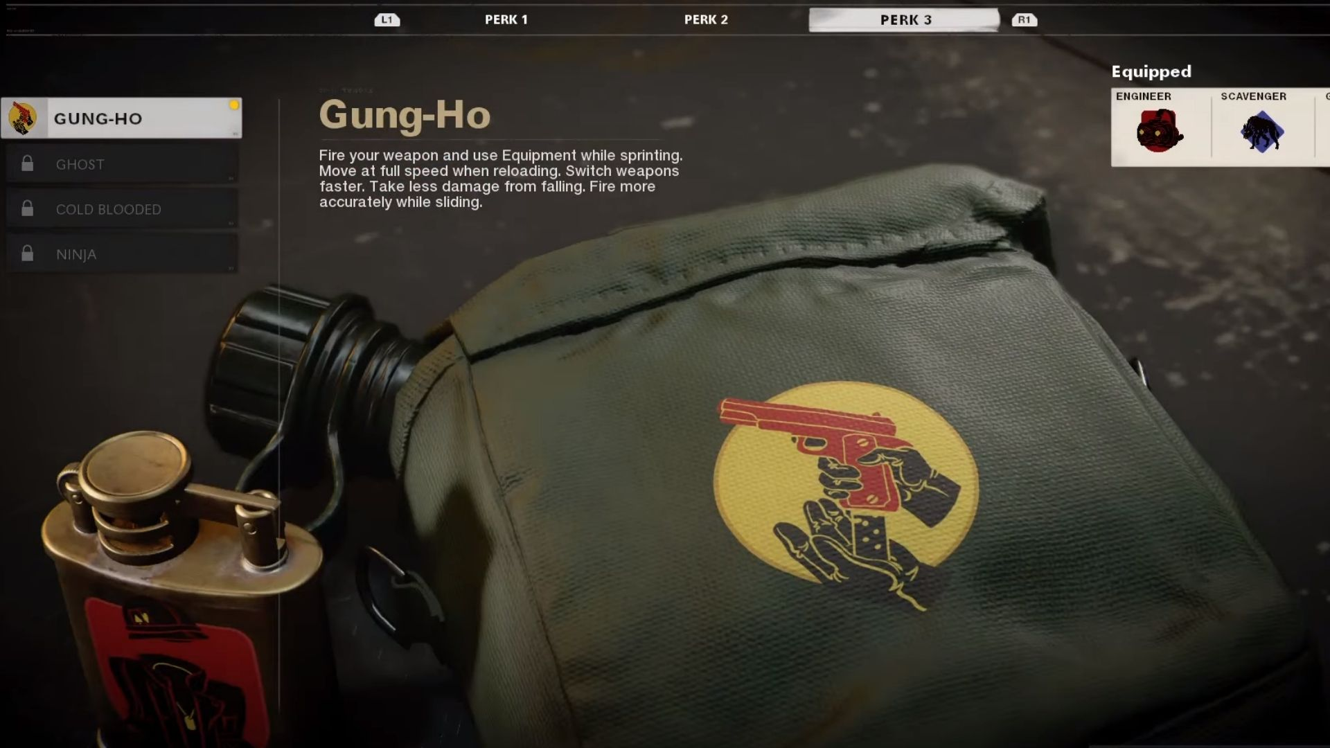 Gung-go perk in black ops cold war